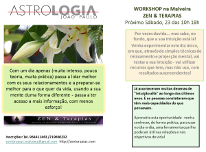 WORKSHOP na Malveira ZEN & TERAPIAS